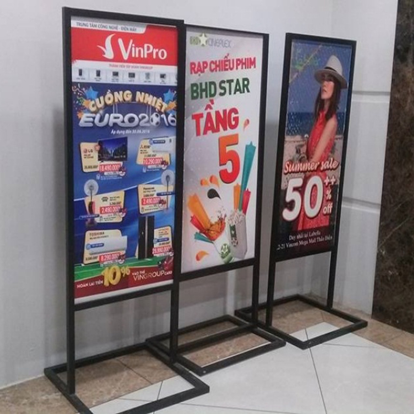 Standee khung sắt chống gỉ Vinpro
